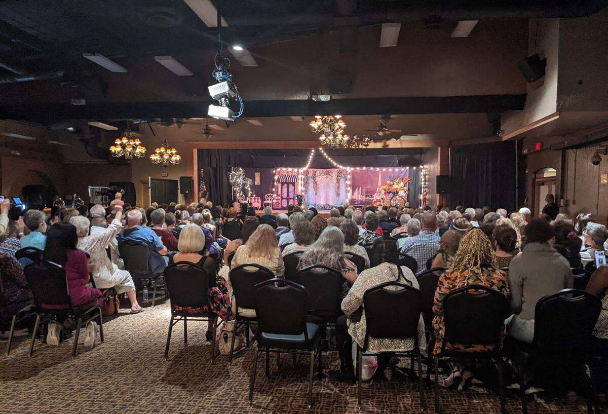 Mark Moore/Special to the Pahrump Valley Times The 2021 Ms. Senior Golden Years Pageant was wel ...