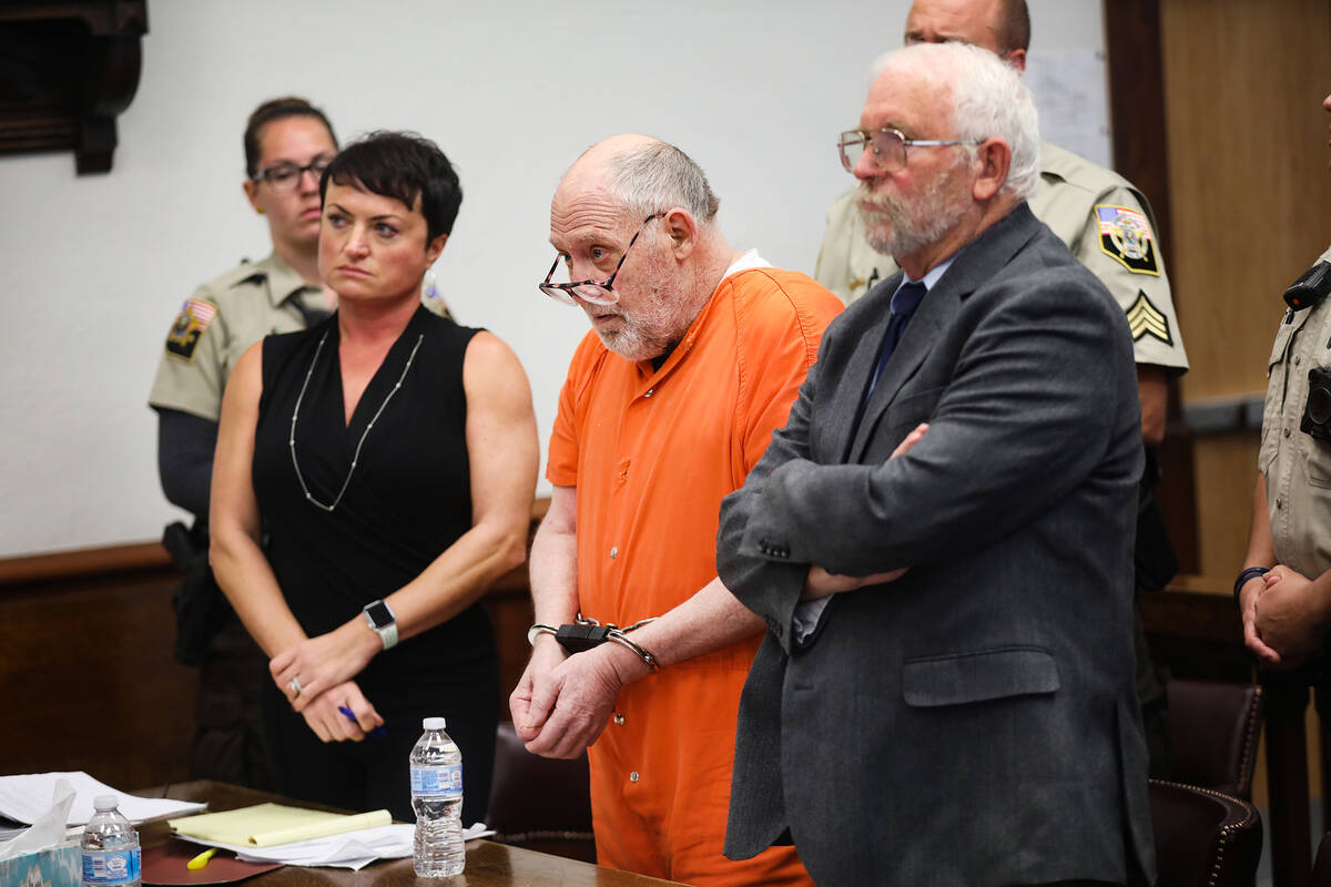 John Dabritz listens as the judge hands down a sentence of life in prison without possibility o ...