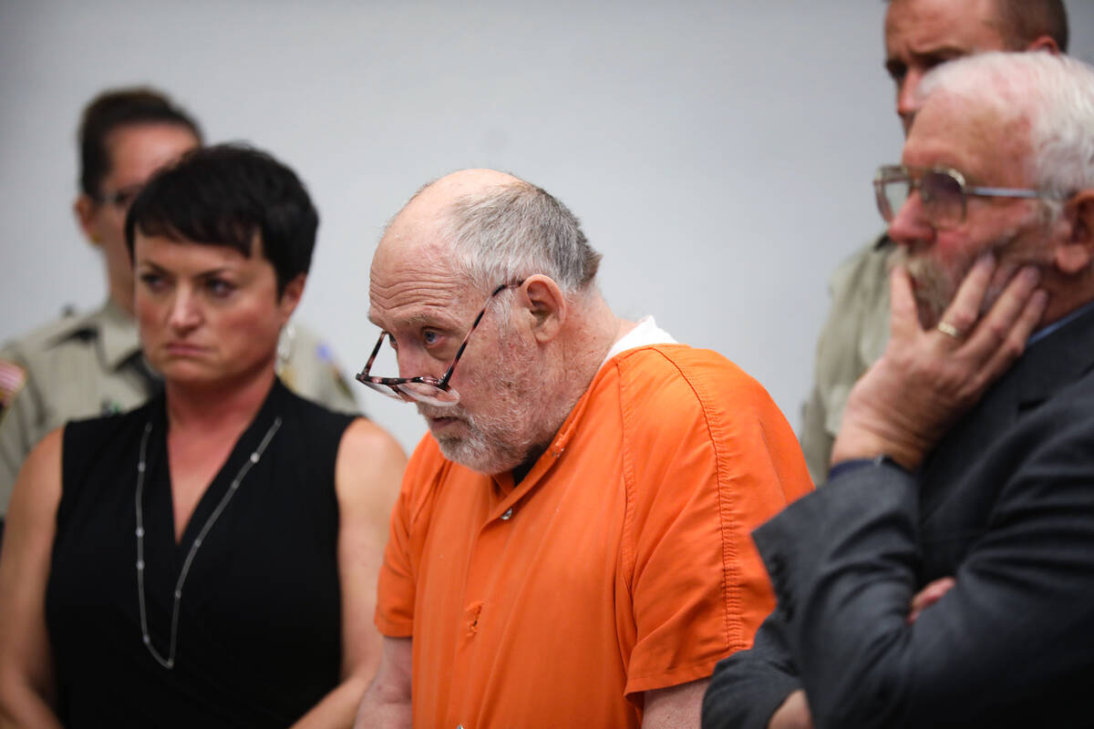 John Dabritz listens as the judge hands down a sentence of life in prison without the possibili ...