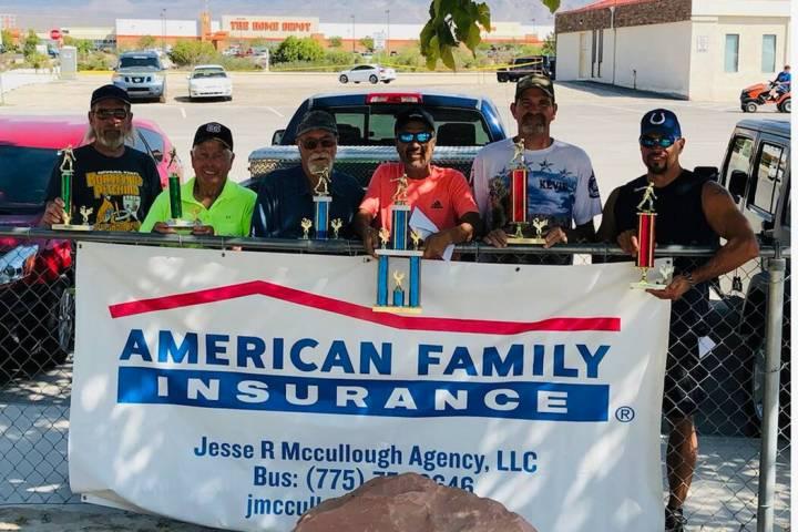 Courtesy Nevada State Horseshoe Pitching Association The winners from the Courtesy Nevada State ...