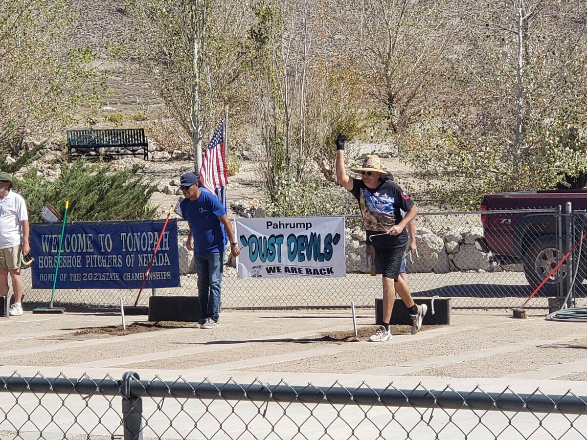Special to the Pahrump Valley Times The Nevada Horseshoe Pitching Association tournament held ...