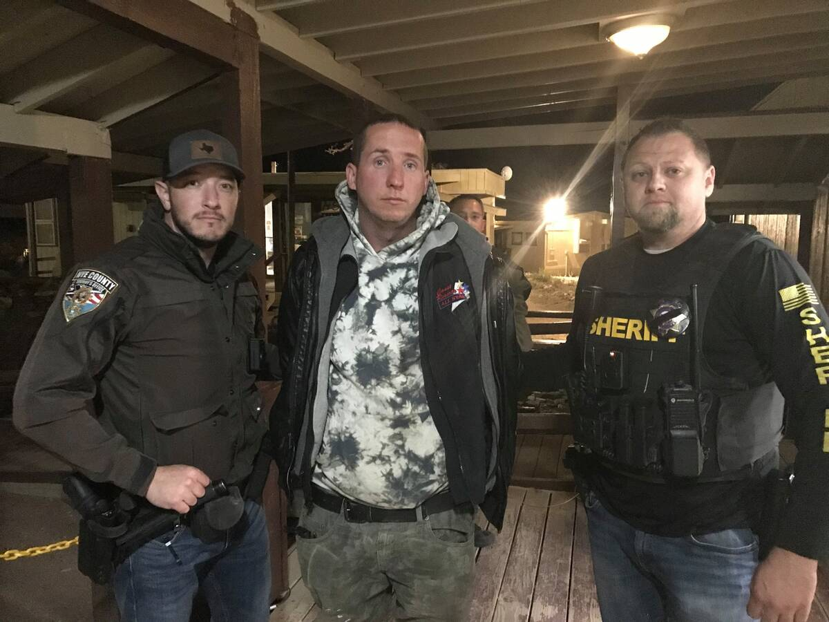 Nye County Sheriff's Office (Facebook) A 36-hour manhunt came to an end Sunday night for an es ...