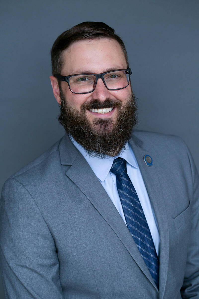 Special to the Pahrump Valley Times Nevada Assemblyman Greg Hafen II is striving to educate the ...