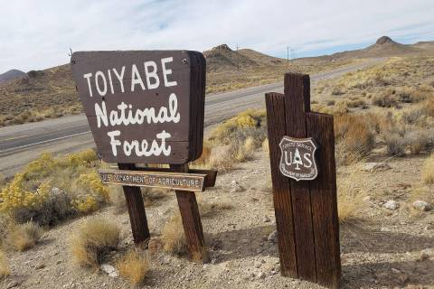 Pahrump Valley Times--file As of Wednesday, the entire Humboldt-Toiyabe National Forest is no l ...
