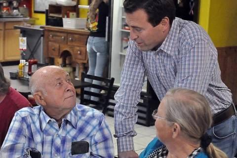 Horace Langford Jr./Pahrump Valley Times Republican contender for the 2022 U.S. Senate race, A ...