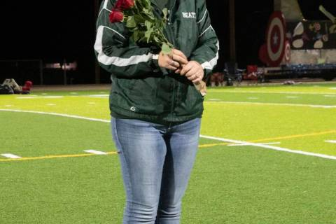 Richard Stephens/Special to the Pahrump Valley Times Pictured is Melody Koivu, grand marshal f ...