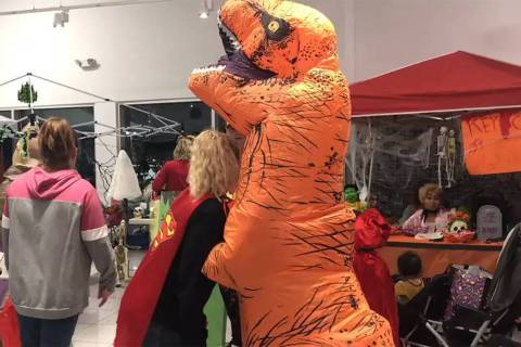 Jeffrey Meehan/Pahrump Valley Times Several Halloween-themed events are scheduled for this week ...